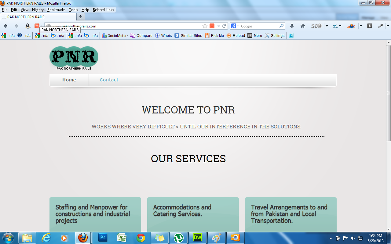 paknorthernrails-website-project